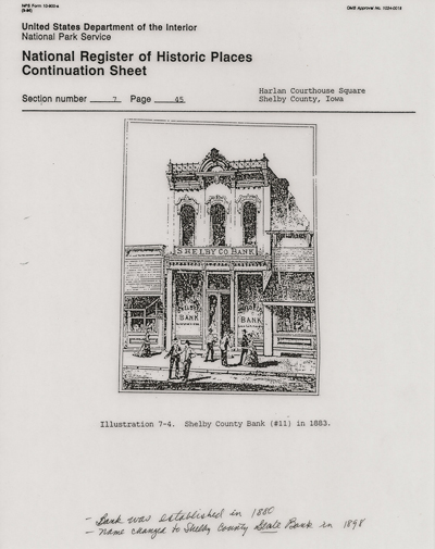 Harlan Store Register Image